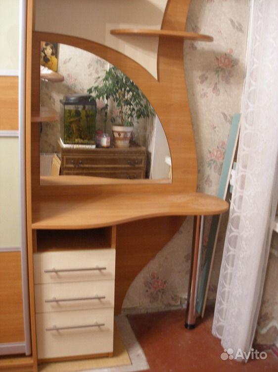 Голосов: 0. комод-туалетный столик с зеркалом серия мебели д.