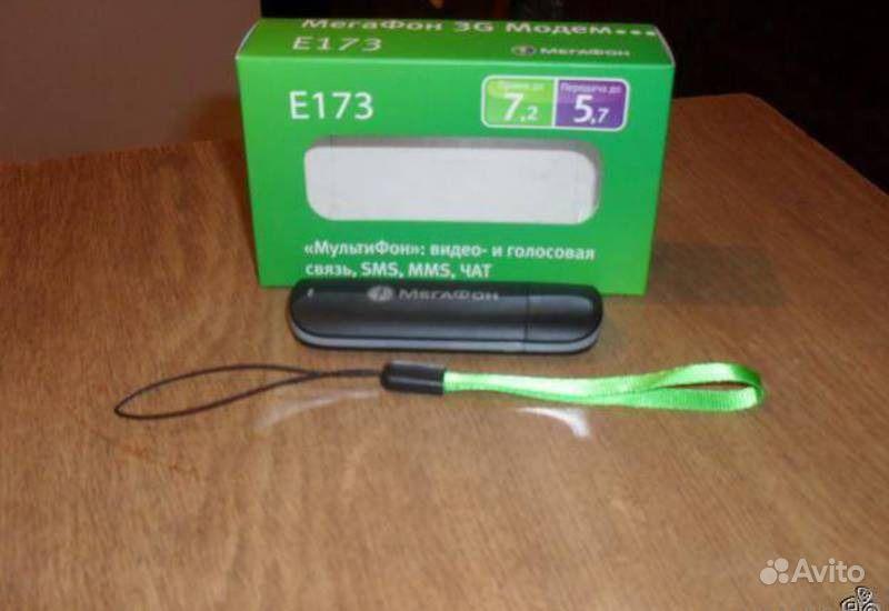 3G модем Мегафон Е173 Black - купить в Красноярске. Проводные модемы на ин