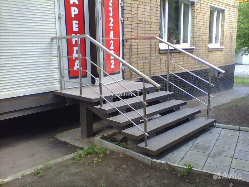 Как сделать входную лестницу 512