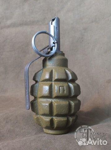 Ручная граната Ф-1 (макет) купить в Ростовской области на Avito ...