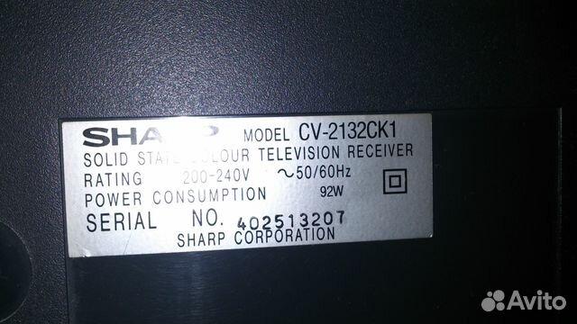 Телевизор Sharp нерабочий