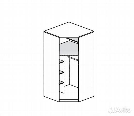 Джорджия СБ-1 3 Шкаф однодверный - Столплит