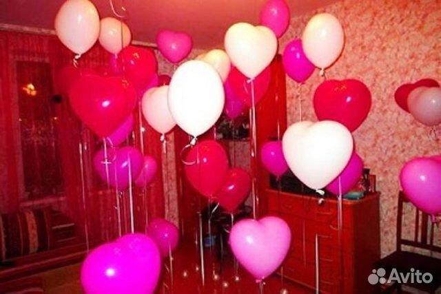 Украшение комнаты шарами фото