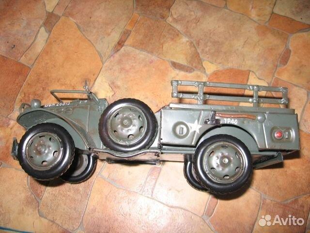 Машинки из металла