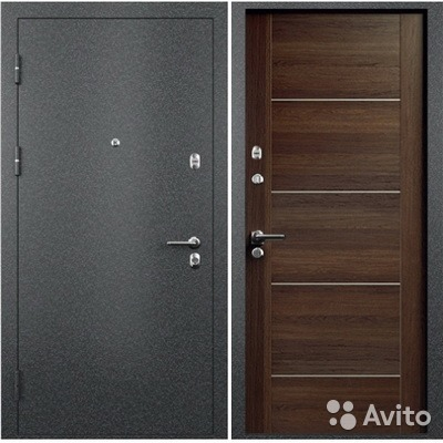 дверь металлическая распашная в наличии