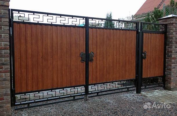 Цни на ворота из профнастла фото в внниц откатные ворота комфорт пермь