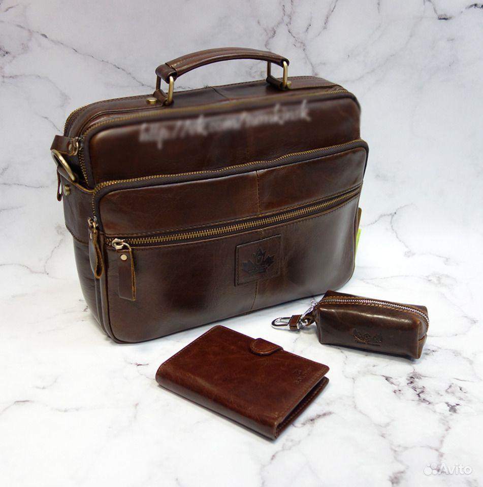 2c7cb0d8ecbe Мужской кожаный портфель