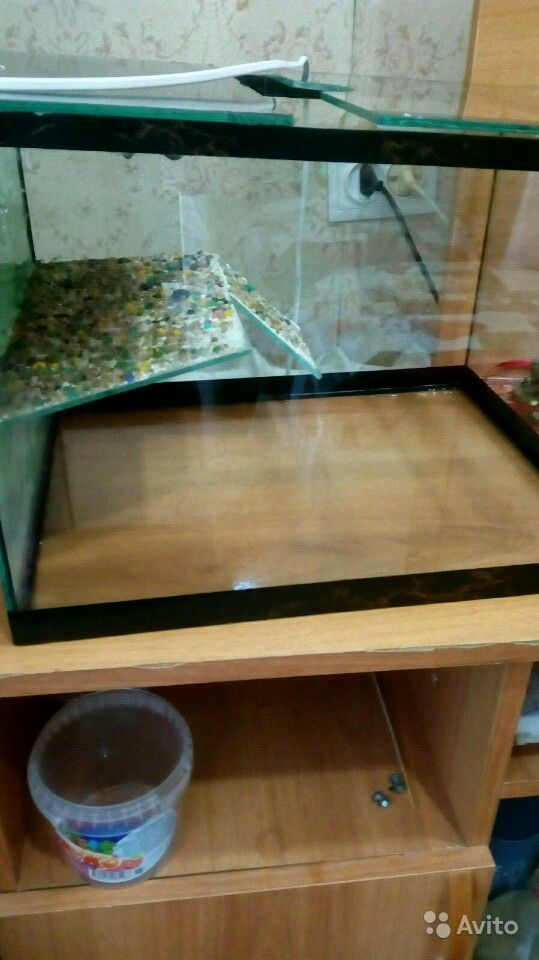 Аквариум для черепахи 30литров