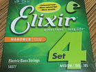 Струны для баса Elixir Nanoweb Medium 45-105