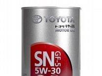 Toyota 5W30 1л — Запчасти и аксессуары в Красноярске