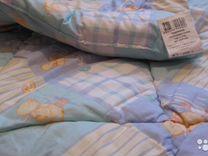 Шерстяное стеганое одеяло