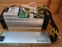 Майнер Asic Antminer S9 13,5TH/s с бп