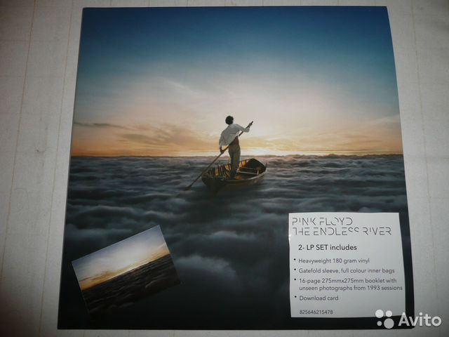 Винил Pink Floyd The Endless river 2014— фотография №1