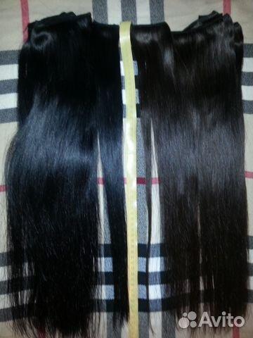 Волосы на заколках натуральные белгород