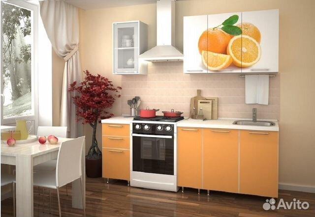 Кухня с печатью 1.5м долька купить в липецкой области на avi.