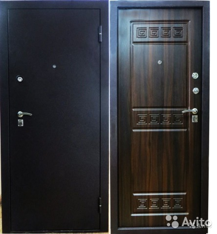 двери входные под шелк