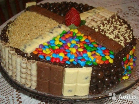 чем украсить торт в домашних условиях фото