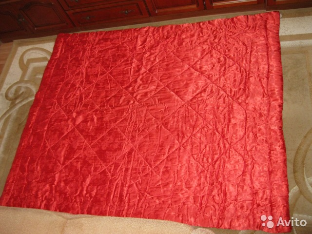 ватное атласное одеяло фото