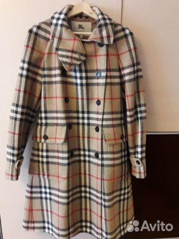 f249a842954f Пальто Burberry оригинал купить в Москве на Avito — Объявления на ...