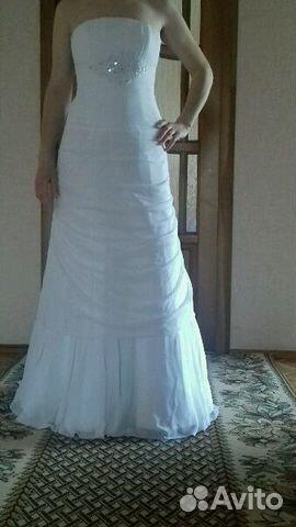 Свадебные платья авито самара