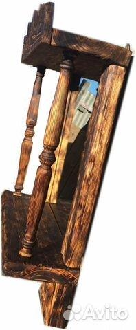 рама для зеркала в рустикальном стиле купить в челябинской