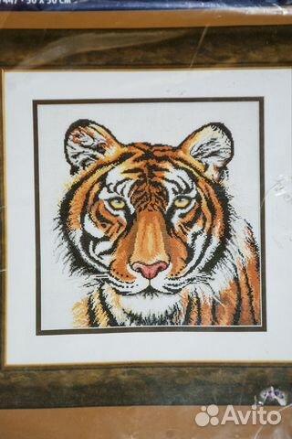 Вышивка (набор для вышивания) Тигр rico design купить 1