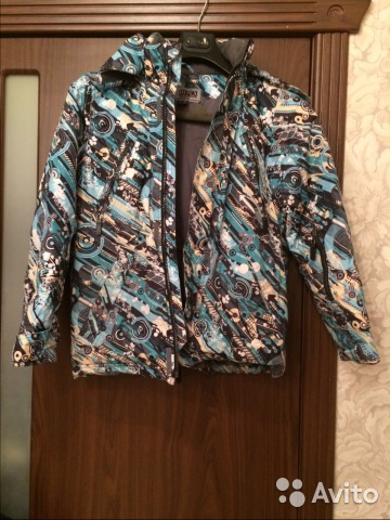 Продается зимняя куртка для мальчика 89270849045 купить 1