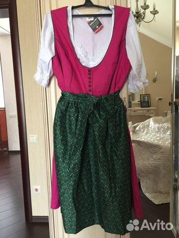 c07564489ba Платье в баварском стиле Дирндль с фартуком купить в Москве на Avito ...