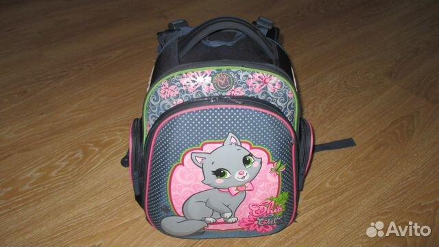 cebc7a84500f Ранец (рюкзак) школьный для девочки   Festima.Ru - Мониторинг объявлений