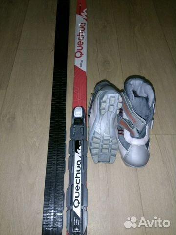 Комплект беговые лыжи, ботинки, крепления   Festima.Ru - Мониторинг ... 835495df2eb