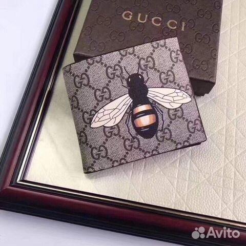 Кошелёк Gucci с пчелой бумажник гуччи купить в Москве на Avito ... 321caf3c5ac