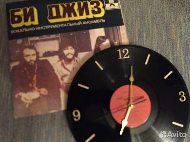 Часы настенные виниловая пластинка 89526551273 купить 1