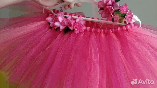 7dd61d311df Розовая пышная юбка пачка тату для девочки