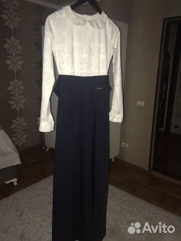 0867b1f55f6efee Длинное платье piena купить в Республике Дагестан на Avito ...