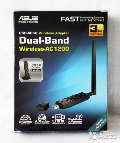 ASUS USB-AC56 WI-FI ADAPTER DRIVER FOR PC