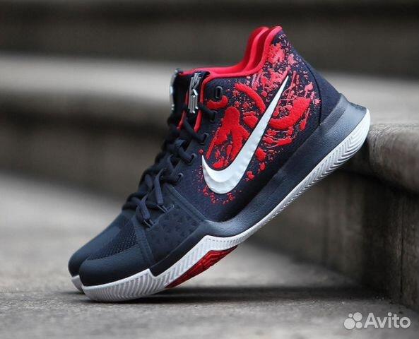 Новые. Кроссовки Nike Kyrie 3 Samurai. 41 размер