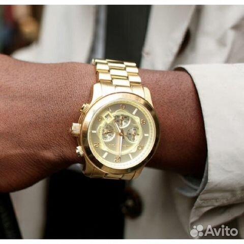 c762e31278a9 Золотые Часы Michael Kors Оригинал Новые MK8077 купить в Санкт ...