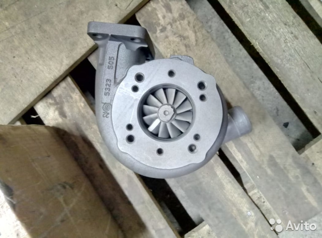 Турбокомпрессор камаз Евро 0-3 ткр7С-6 №740.62-28