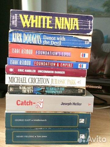Книги на английском: фантастика +детектив+ классик 89135821286 купить 1