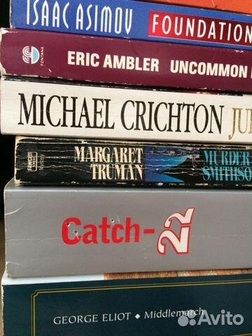 Книги на английском: фантастика +детектив+ классик 89135821286 купить 3