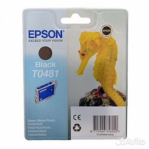 Цветной картридж epson