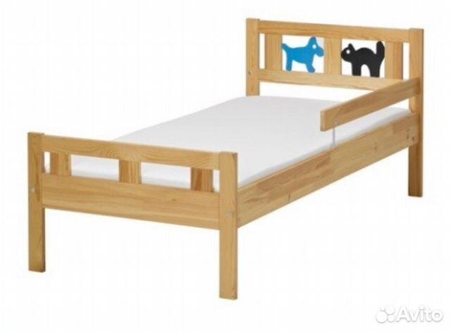 икеа кровать криттер размер 16575 см матрац Festimaru