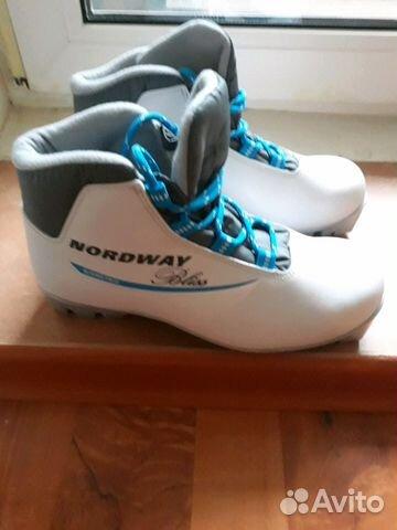 18e26467fca7 Ботинки для беговых лыж новые купить в Саратовской области на Avito ...