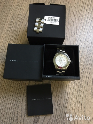 Часы Marc by Marc Jacobs купить в Тверской области на Avito ... 2c8db71303fb2