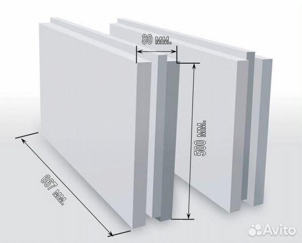 размер блоков для внутренних перегородок
