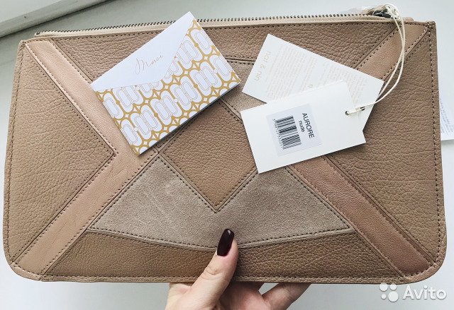 2843f8e0aa17 Новая сумка клатч конверт Nat&Nin Франция купить в Москве на Avito ...