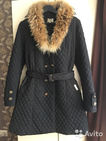 74ba1a1e2fc Пальто стеганое тёплое Chanel