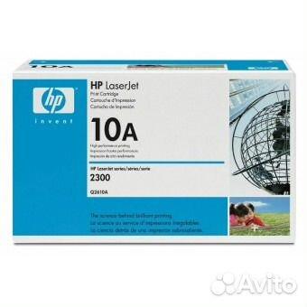 Оригинальный картридж hp 10A (Q2610A) купить 1