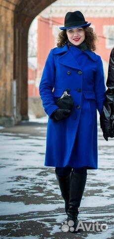 8a78fd7020c Пальто Monton синее демисезонное осеннее весеннее купить в Санкт ...