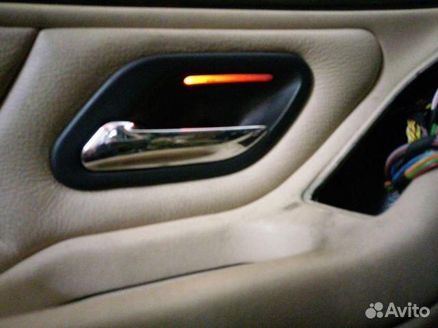 ручки дверные с подсветкой комплект Bmw E38 E39 купить в москве на